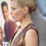 Elizabeth Banks French Twist Updo Hairstyle 2013