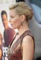 Elizabeth Banks French Twist Updo Hairstyle 2013