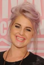 Kelly Osbourne Cute Casual Messy Updo