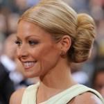 Kelly Ripa Voluminous Bun Hairstyle for Women Over 40