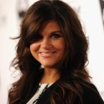 Tiffani Thiessen Layered Haircuts with Soft Waves
