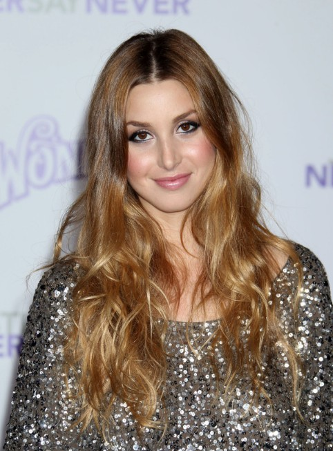 Whitney Port Long Curly Hairstyles for Women