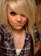 Long Straight Emo Hairstyles for Emo Girls
