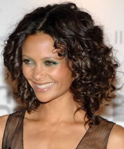 Medium Black Curly Hairstyles