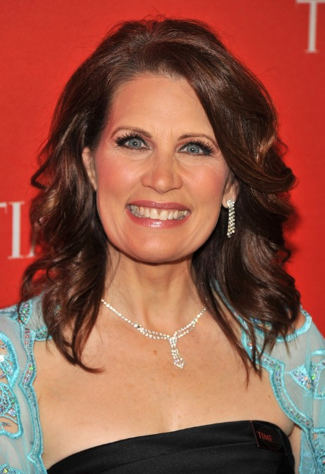 Michele Bachmann Medium Wavy Hairstyle for Women Over 50s