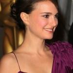Natalie Portman Bun Updo Hairstyle for Thin Hair