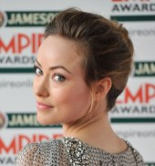 Classic French Twist from Olivia Wilde