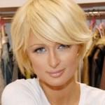 Paris Hilton short hairstyle