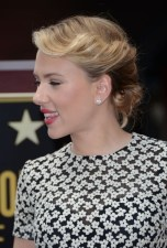 Scarlett Johansson Hairstyles: Beautiful Ombre Updo Hair for Any Occasion
