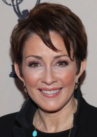 Short layered hairstyle for women over 50s