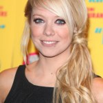 Side Loose Ponytail Hairstyle 2013