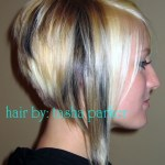 Side View of A-line Bob - Best Bob Hairstyle for Women