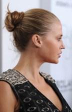 Simple Bun Updo Hairstyles 2013 - 2014