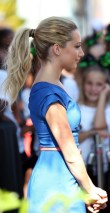 Ashley Tisdale Simple Wrapped Ponytail