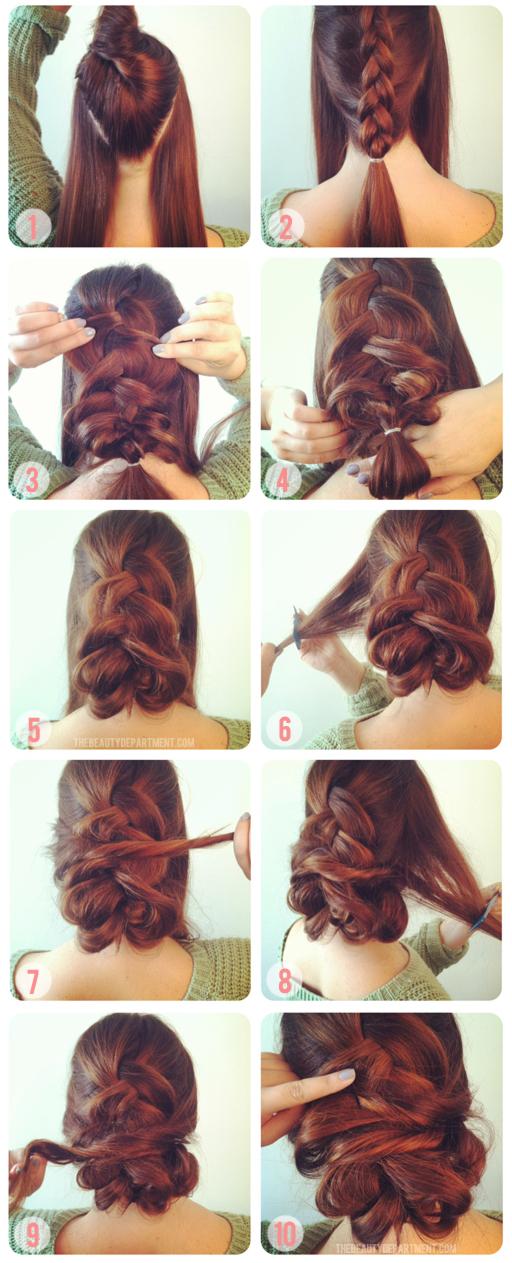 Braiding Tutorials: how to braid your hair (3)