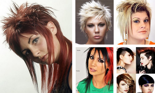 punk hairstyles 2013