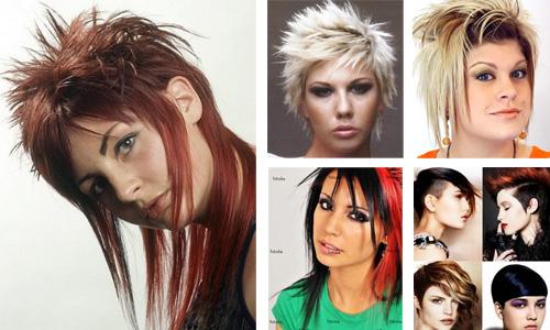 punk hairstyles 2013