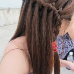 Beautiful Waterfall Braid Hairstyles 2013 - 2014