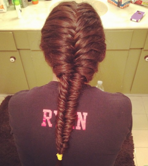 Classic French Fishtail Braid for Summer