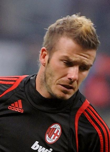 David Beckham Fauxhawk 2013
