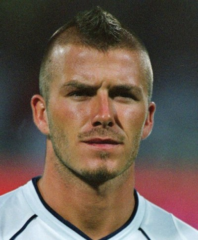 David Beckham Mohawk Hairstyle for Men