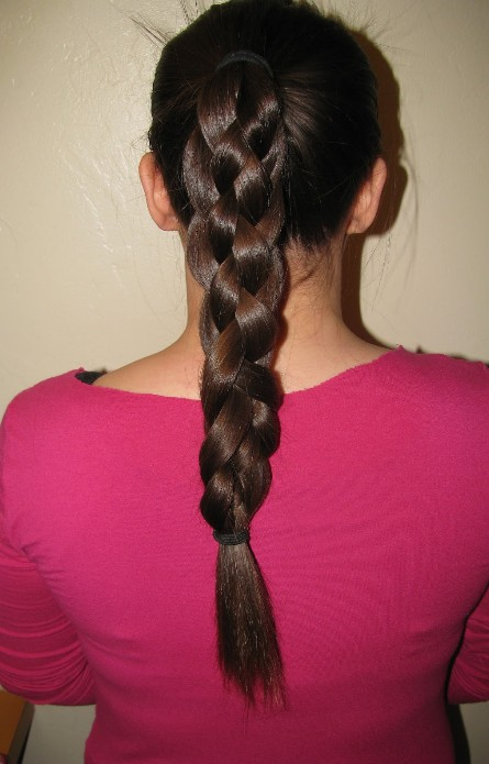 Five Strand Braid Hairstyle for Women 2013 - 2014