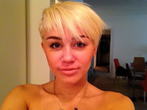 Miley Cyrus Short Hairstyle 2012