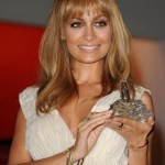 Nicole Richie Latest New Long Straight Hairstyle with Bangs 2013