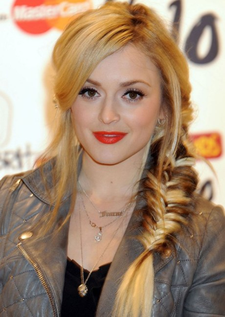 Prom Hair Ideas: Side Fishtail French Braid for Prom