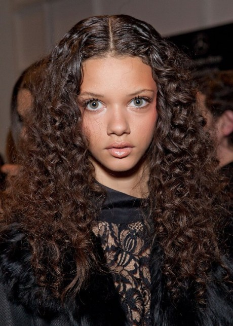 2013 Casual Long Curly Hairstyle
