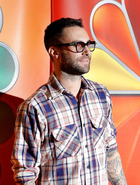 Adam Levine Latest Hair Style: The short Spiked Haircut for Guys