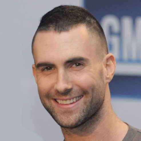 Adam Levine Short Crew Cut: Very Short Haircut for Men