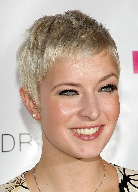 Celebrity Short Pixie Cut