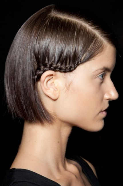 2013 Short Hairstyles: Cute Spring Hairstyles with Braid