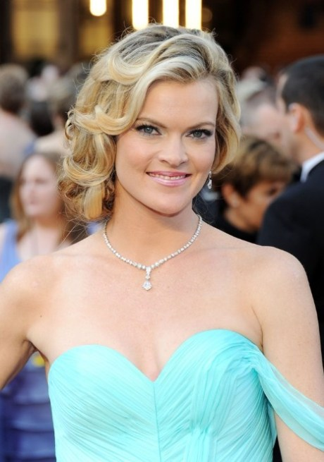 Missi Pyle Ombre Wavy Hairstyle for Thick Hair