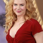 Nicole Kidman Red Carpet Hairstyle: Long Blonde Wavy Curly Hair Style