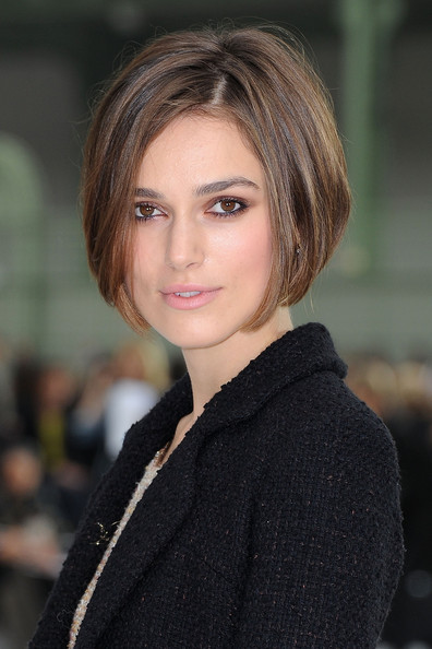 Keira Knightley hairstyles
