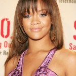 Cute Back To School Hairstyles for Long Hair from Rihanna
