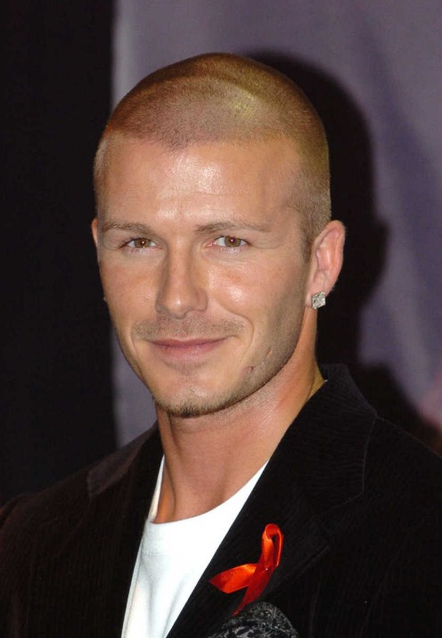 David Beckham Burr Cut Cool Low Maintenance Cut For Men