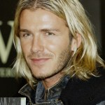 David Beckham Casual Long Wavy Hairstyle for Men