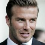 David Beckham Fashion Business Hairstyle for Men
