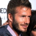 2013 Short Haircut for Men: David Beckham Faux Hawk Hairstyles: