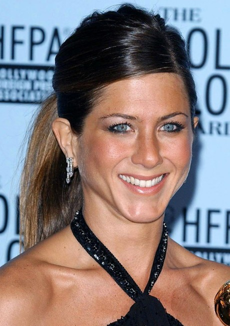 Jennifer Aniston Sleek Ponytail for Women Over 40s