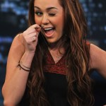 Miley Cyrus Cute Long Braided Hairstyle