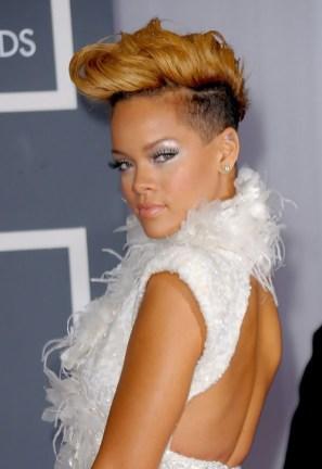 Rihanna Faux Hawk Haircut: Stylish Faux Hawk for Women