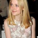 Dakota Fanning Long Blonde Bob Hairstyle