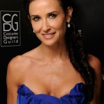 Demi Moore Braided Fish Tail Hairstyle