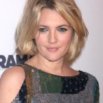 Drew Barrymore Short Bob Hairstyle