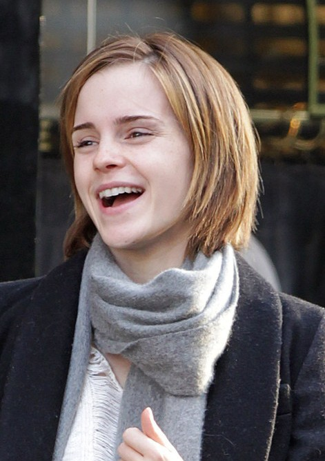 Emma Watson Short Bob Haircut