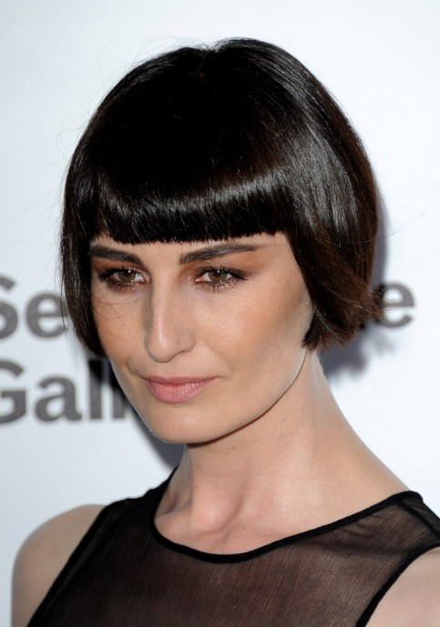 Erin OConnor Short Straight Bob Hairstyle Hairstyles Weekly